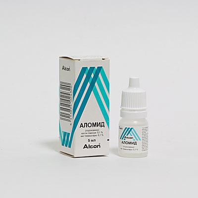 аллергия на глазные капли что делать