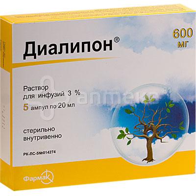 диалипон инструкция по применению описание препарата
